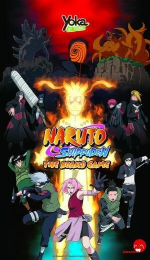 Naruto Shippuden board game cover