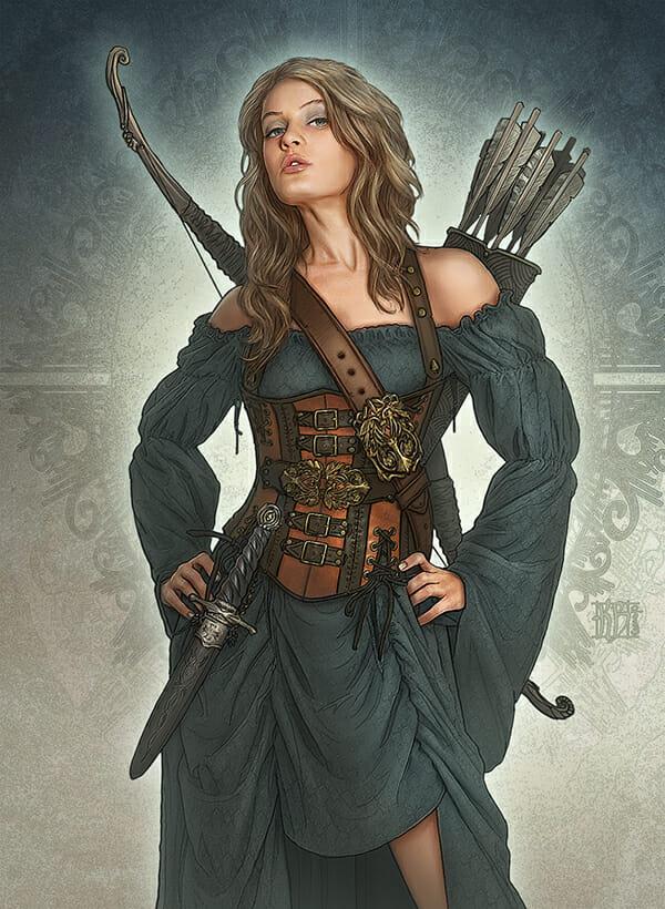 Realms of Mayhem archer