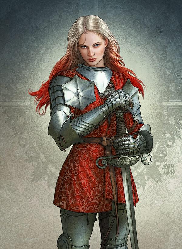 Realms of Mayhem knight