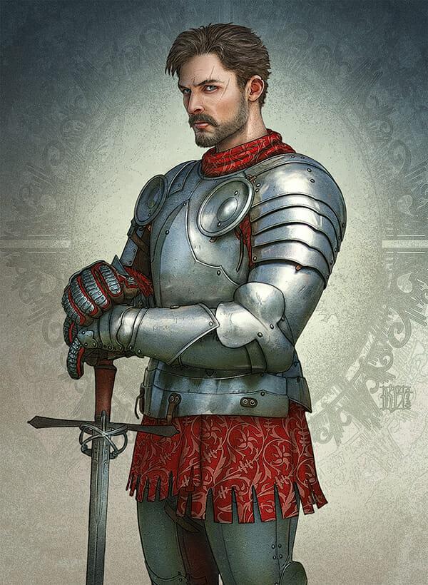Realms of Mayhem male knight