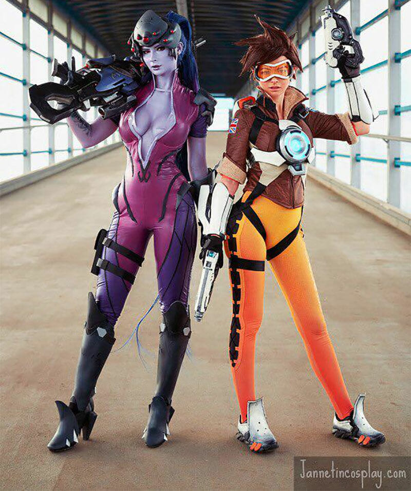 Widowmaker and Tracer