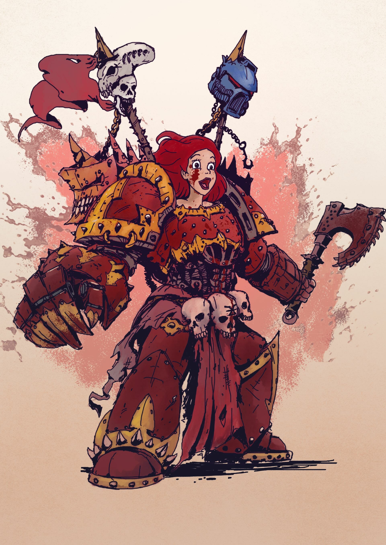 Warhammer 40K princess 2