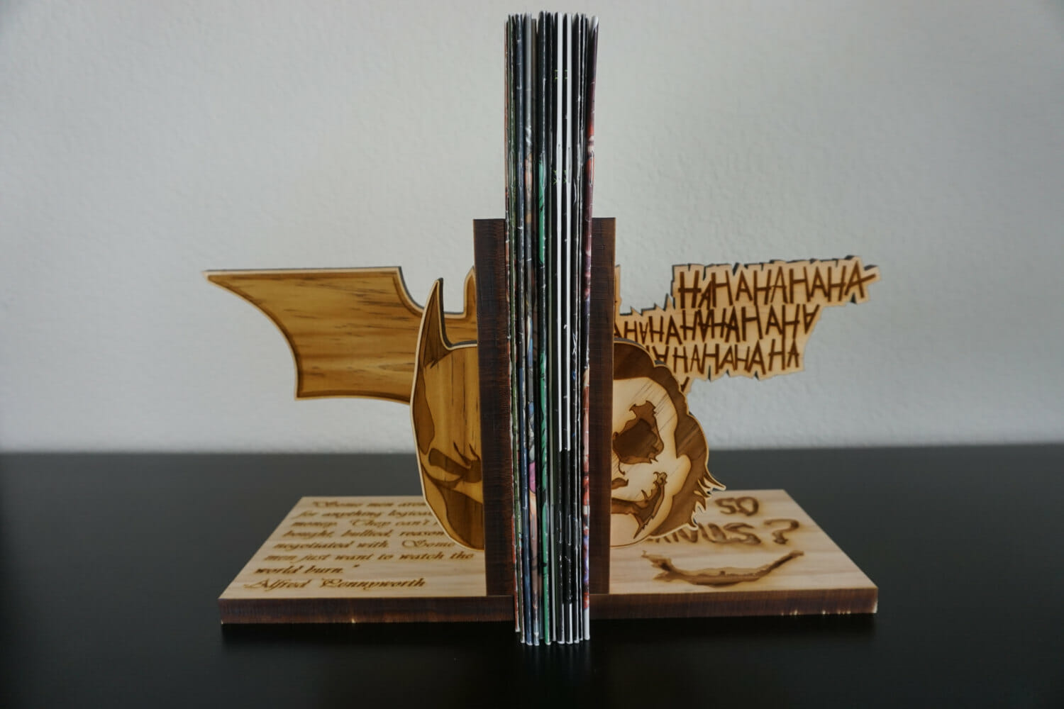 wooden-bookends-batman