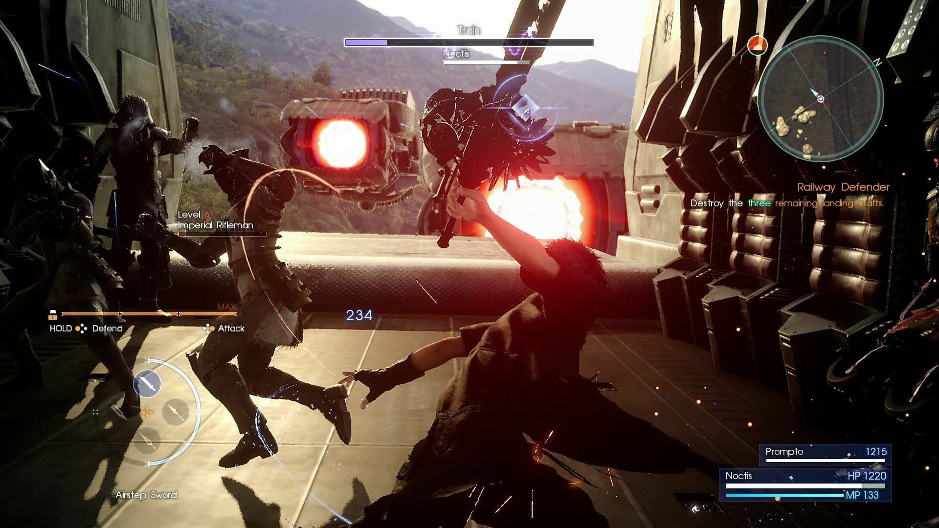 FF15_SQUARE-ENIX_Noctis-Battle-on-Landing-Craft_Screenshot_06132016