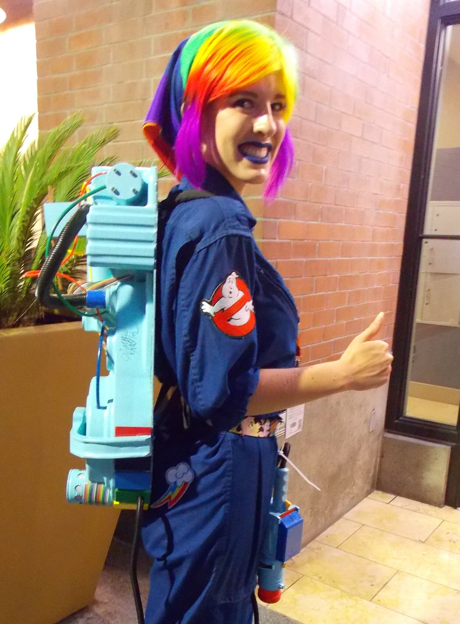 Rainbow Dash Ghostbuster