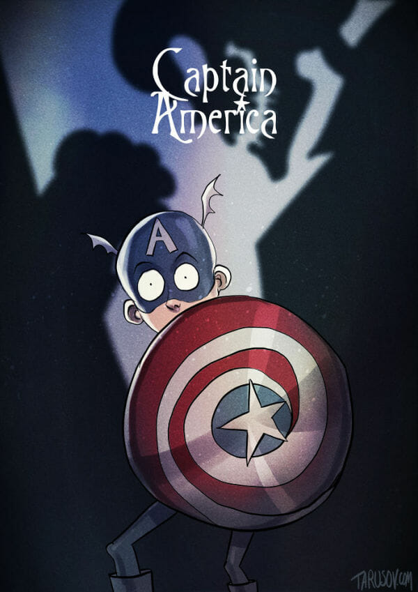 what-if-tim-burton-did-captain-america