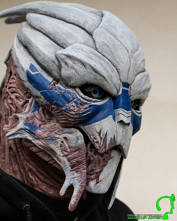 Expensive Masks For Halloween.12 Masks Of Halloween 5 Garrus