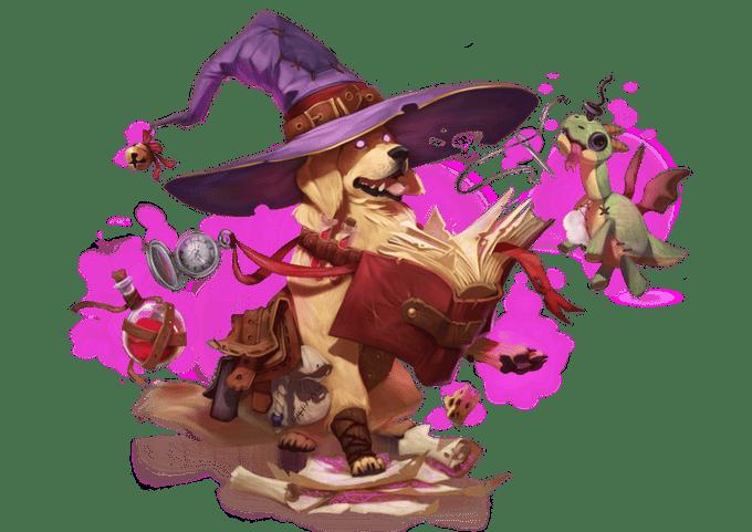 Wizard doggo