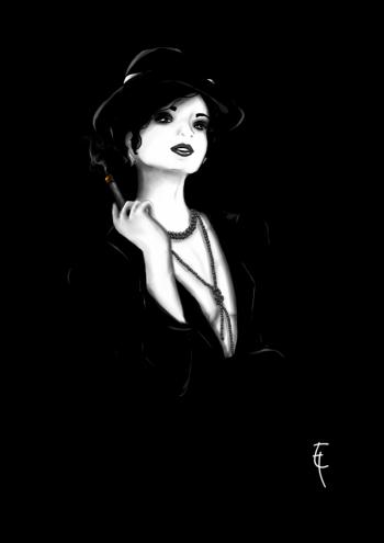 Cabaret Noir by Sophonisbee