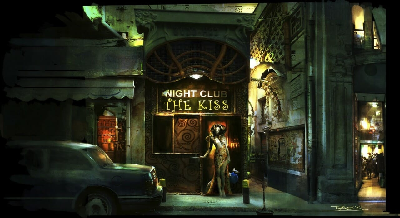 Alessandro Taini - Night Club The Kiss - SCI-FI