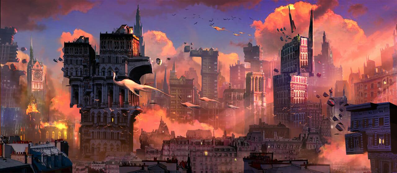 Alessandro Taini - Fantasy City