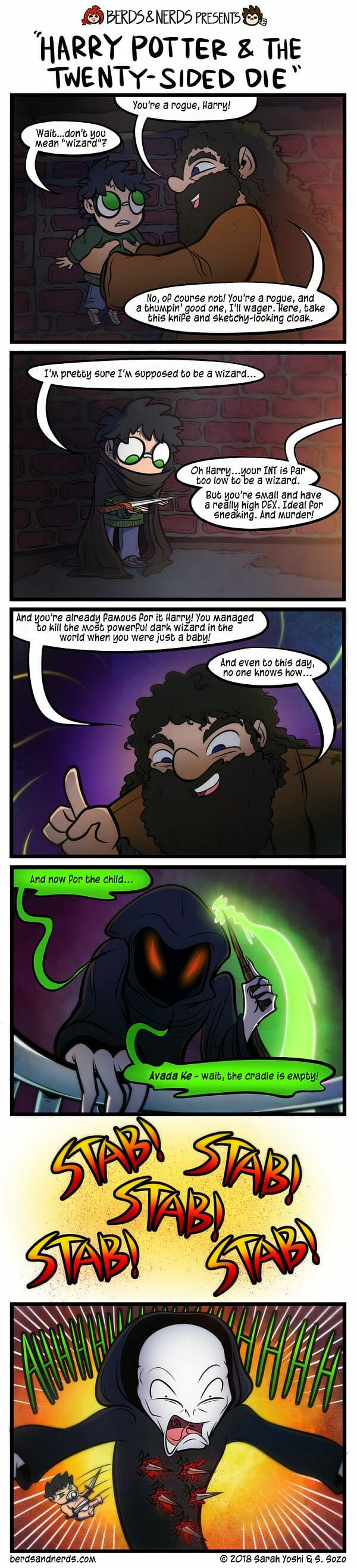 Harry Potter as a rogue