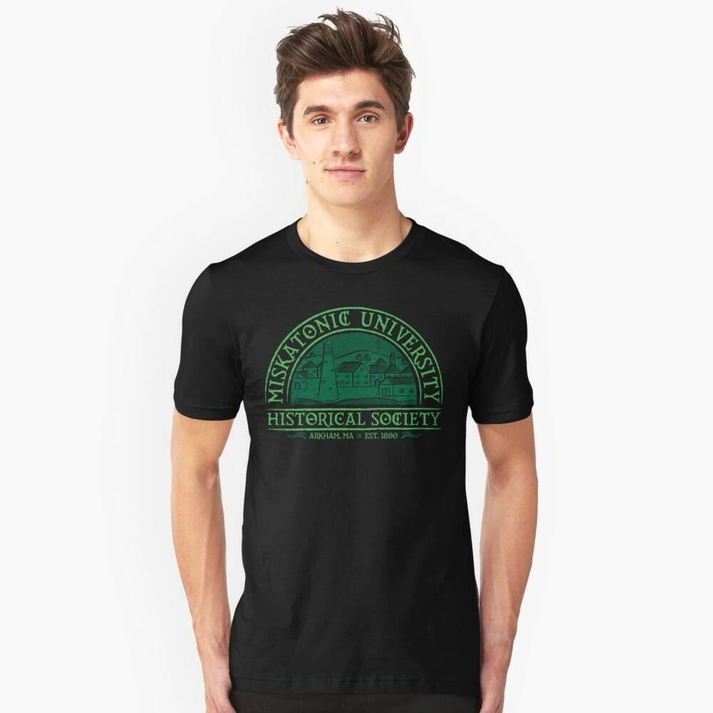 Lovecraft t-shirt: Miskatonic Historical society