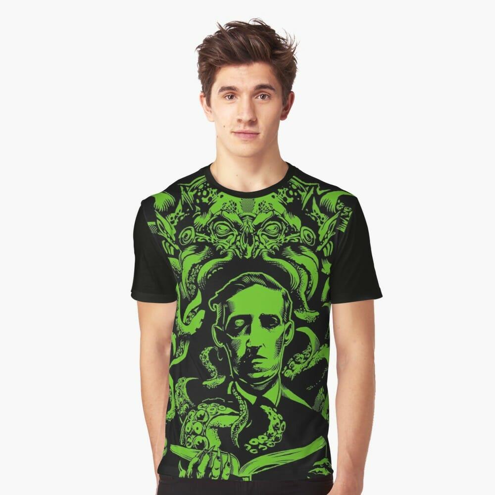 Lovecraft t-shirt: Love Cthulhu