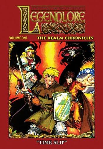 Legendlore comic