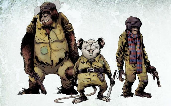 Mutant Year Zero: mutant animals