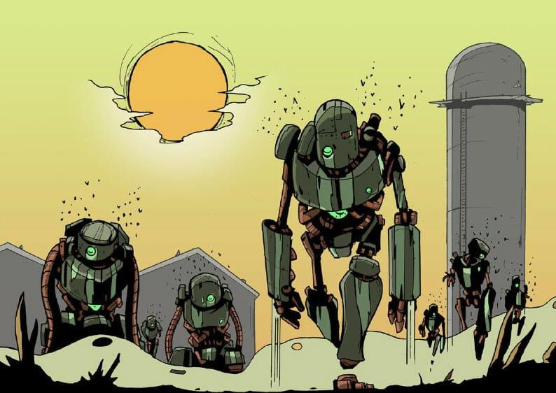 Mutant Year Zero robots