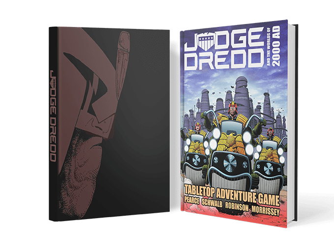 Judge Dredd RPG  - WOIN