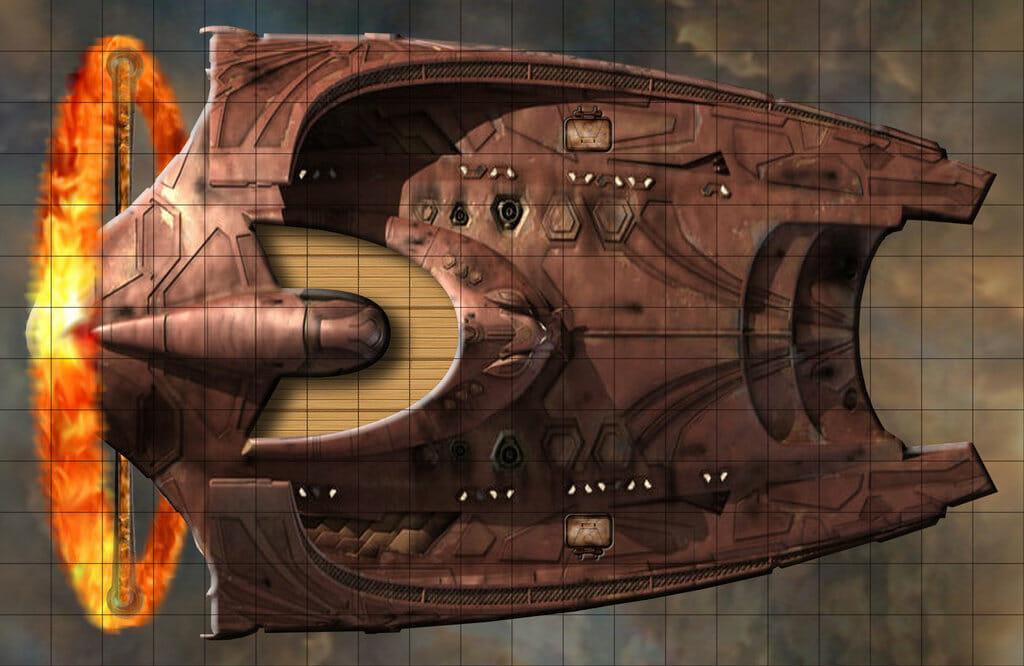 Eberron airship floor plans