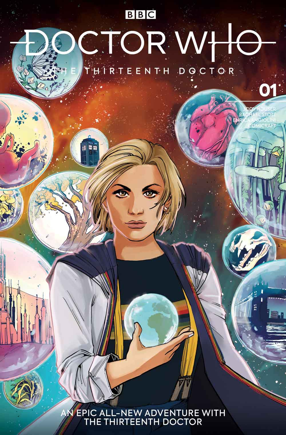 Doctor Who comic cover - Thirteenth Doctor