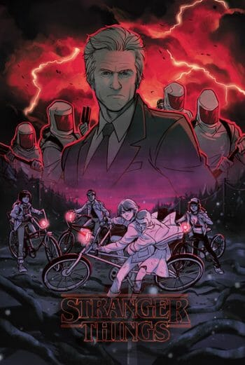 Stranger Things #1 - TFAW exclusive cover