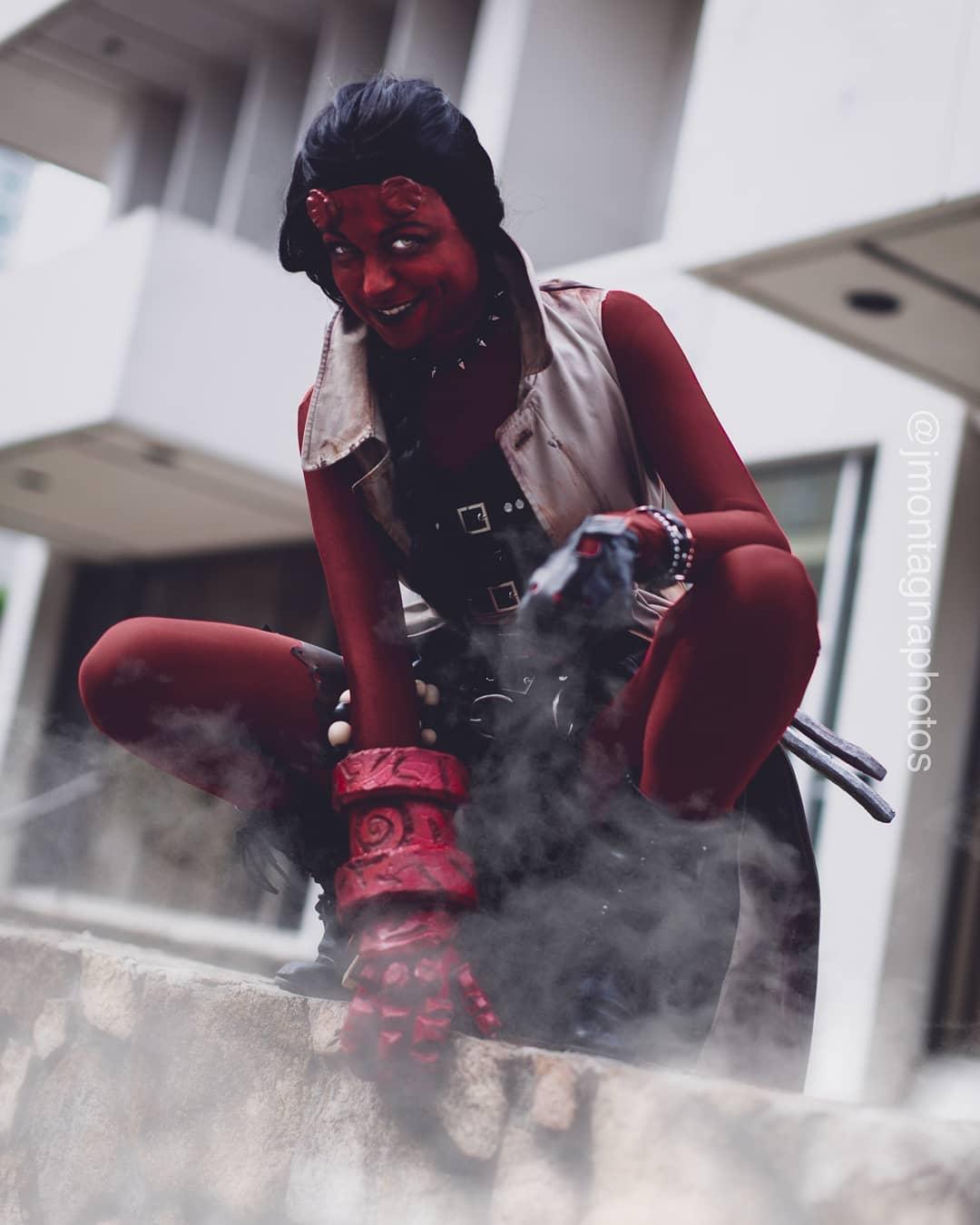 Aerobyn as Hellboy