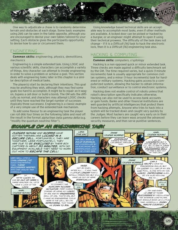 Judge Dredd and The Worlds of 2000AD RPG