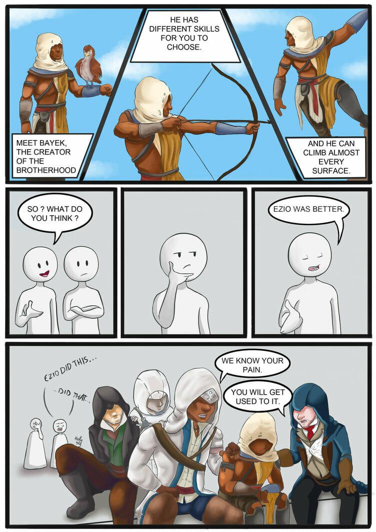 Ezio was better