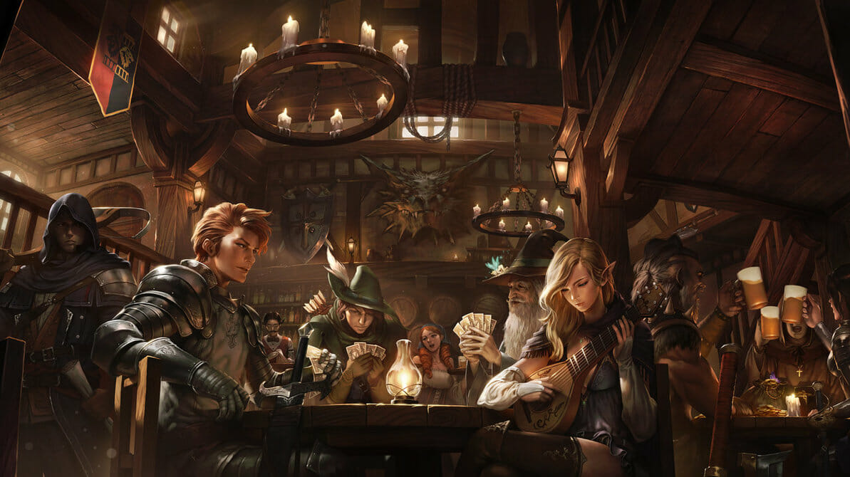 D&D speed dating ... or a tavern full of heroes?