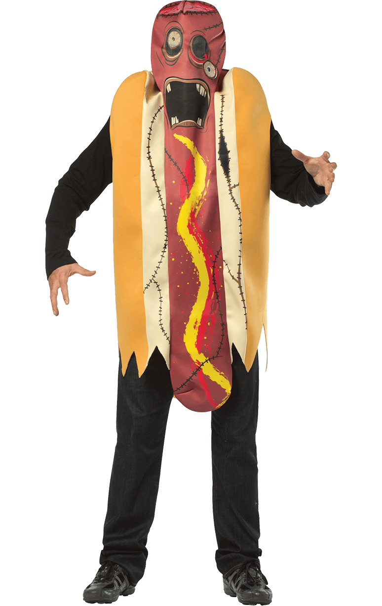 Zombie hotdog