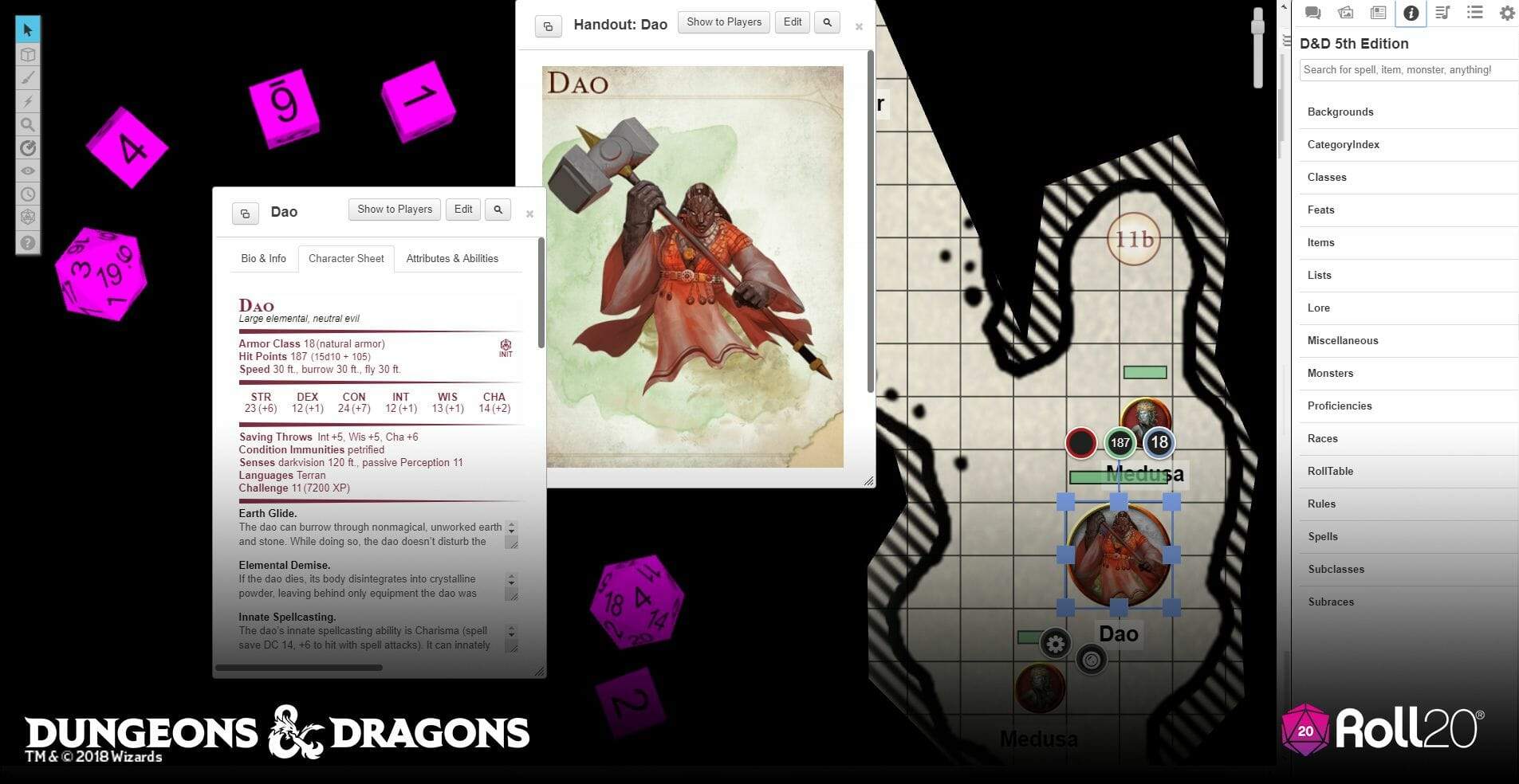 Roll20 Waterdeep: Dungeon of the Mad Mage screenshots