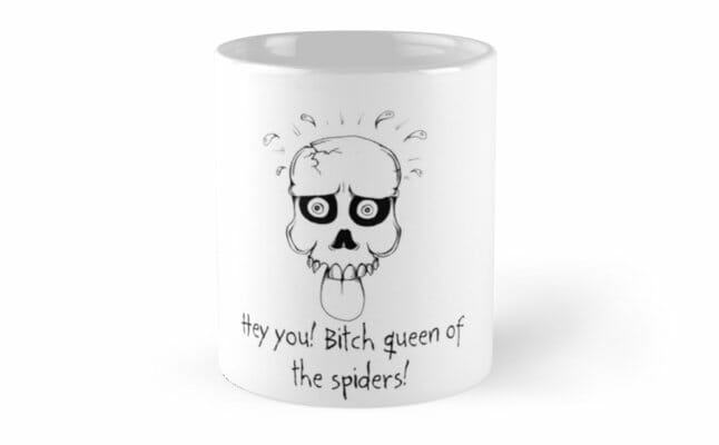 Bitch queen of the spiders