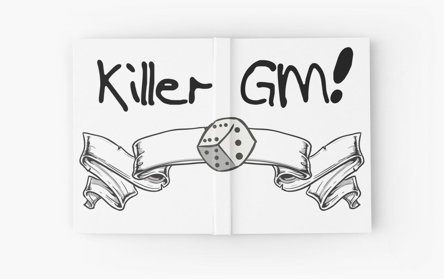 killer gm notebook
