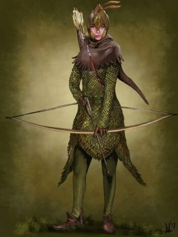 Was D&D inspired by Lord of the RIngs - a Mirkwood Ranger