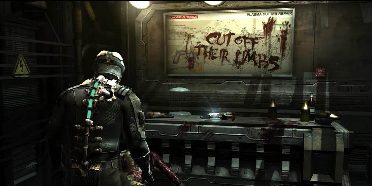 Dead Space - cut off their limbs