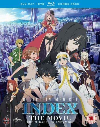 A Certain Magical Index movie cover