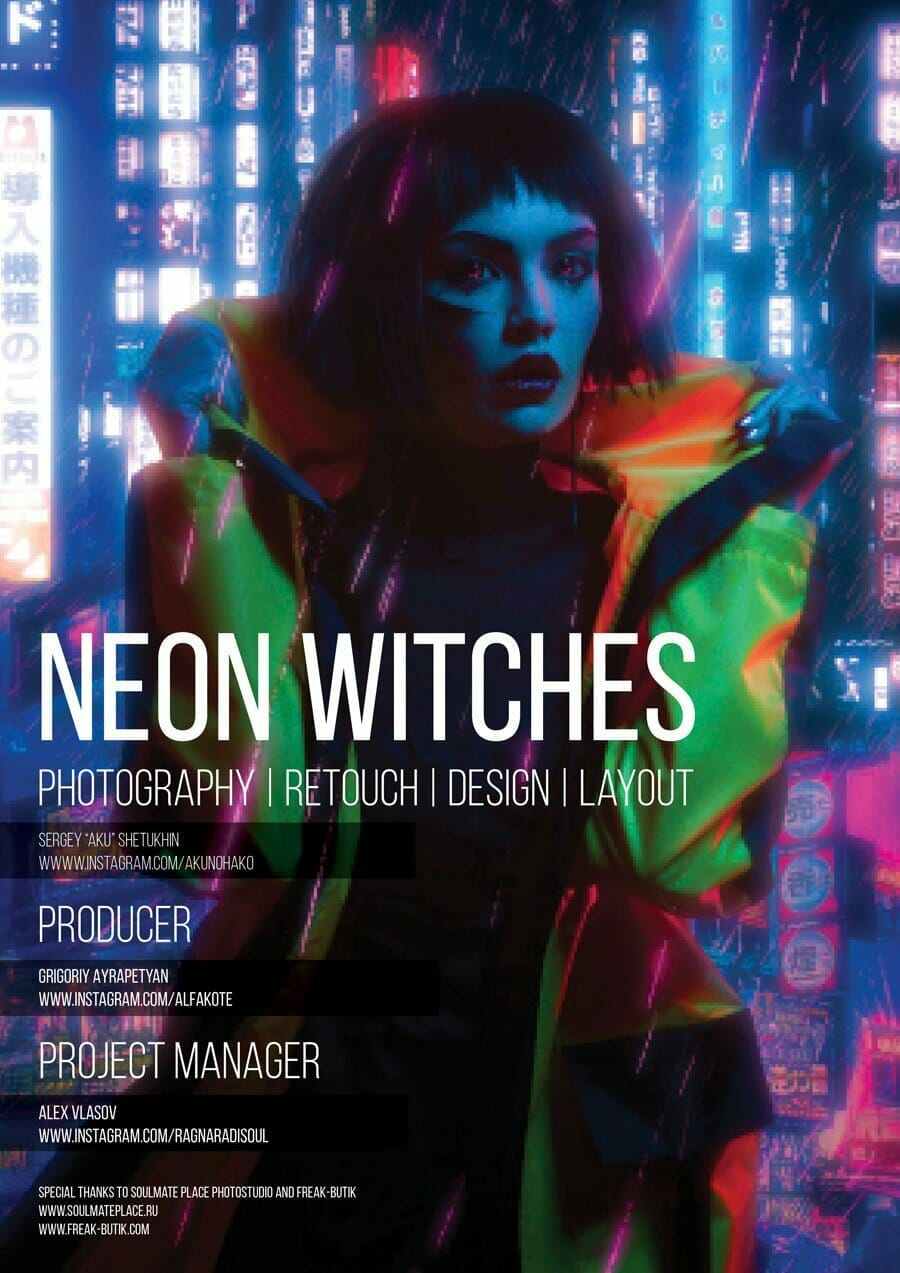 Neon Witches
