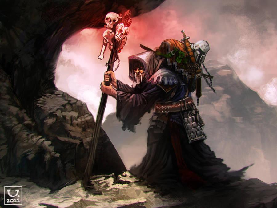 Avillum Grim Staff