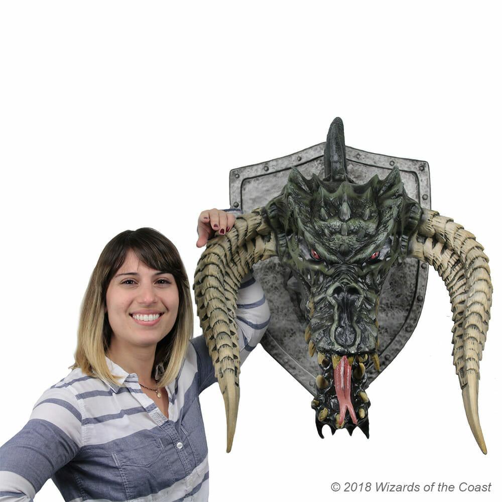 Official D&D black dragon trophy