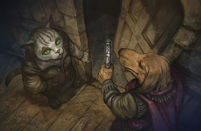 Pugmire - Darcy Cat and Alistair Afghan