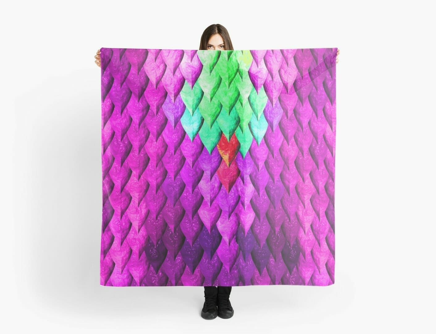 Dragon scales scarf