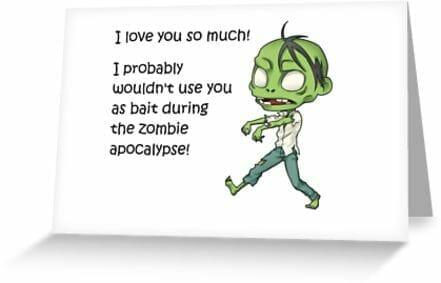 Zombie apocalypse love
