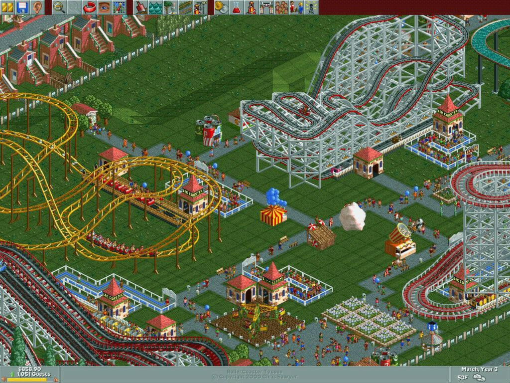 Have fun - Rollercoaster Tycoon