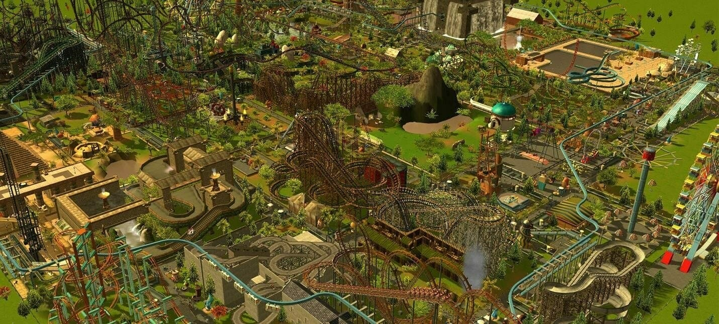 Parks - Rollercoaster Tycoon