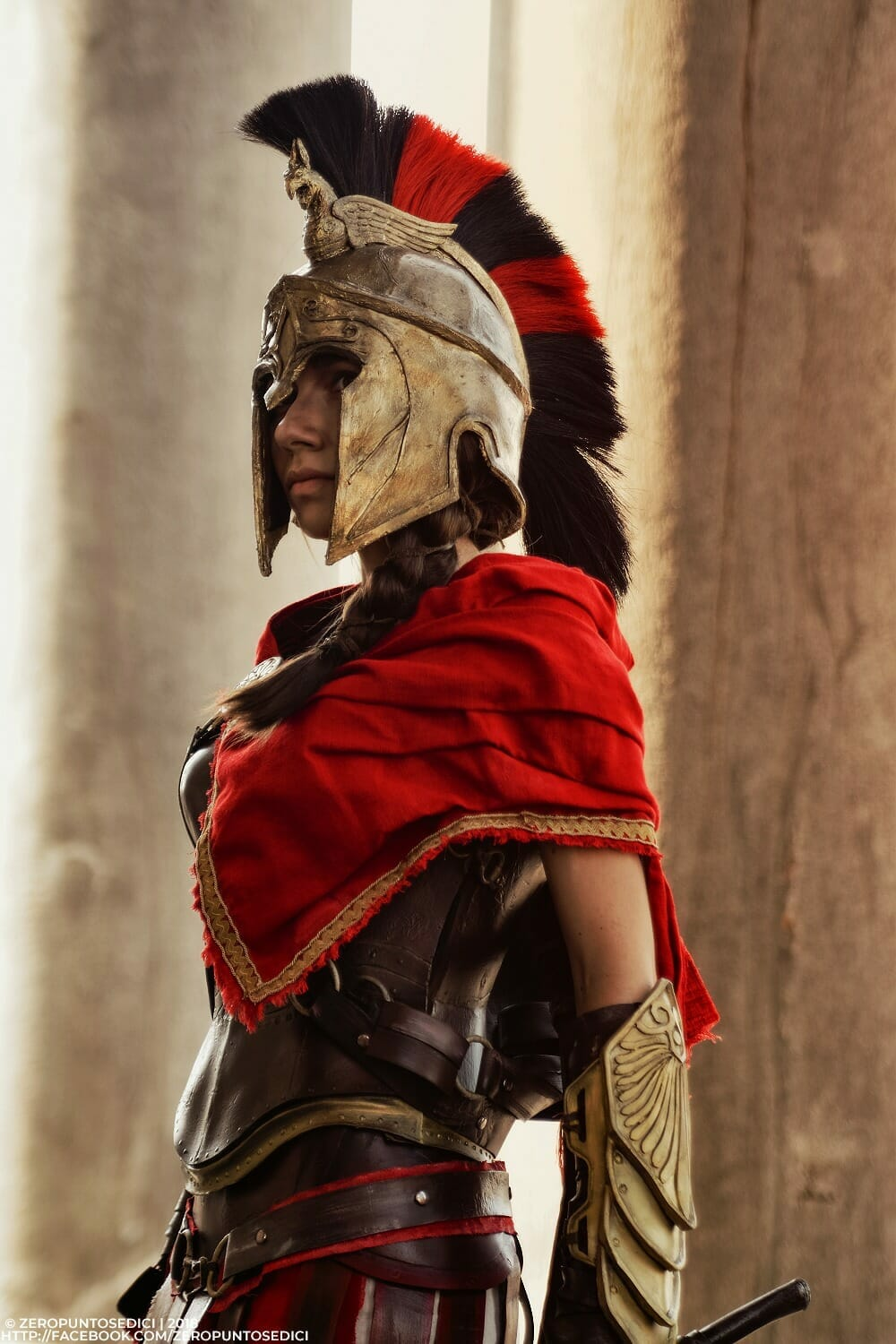 Kassandra from Assassin's Creed Odyssey cosplay