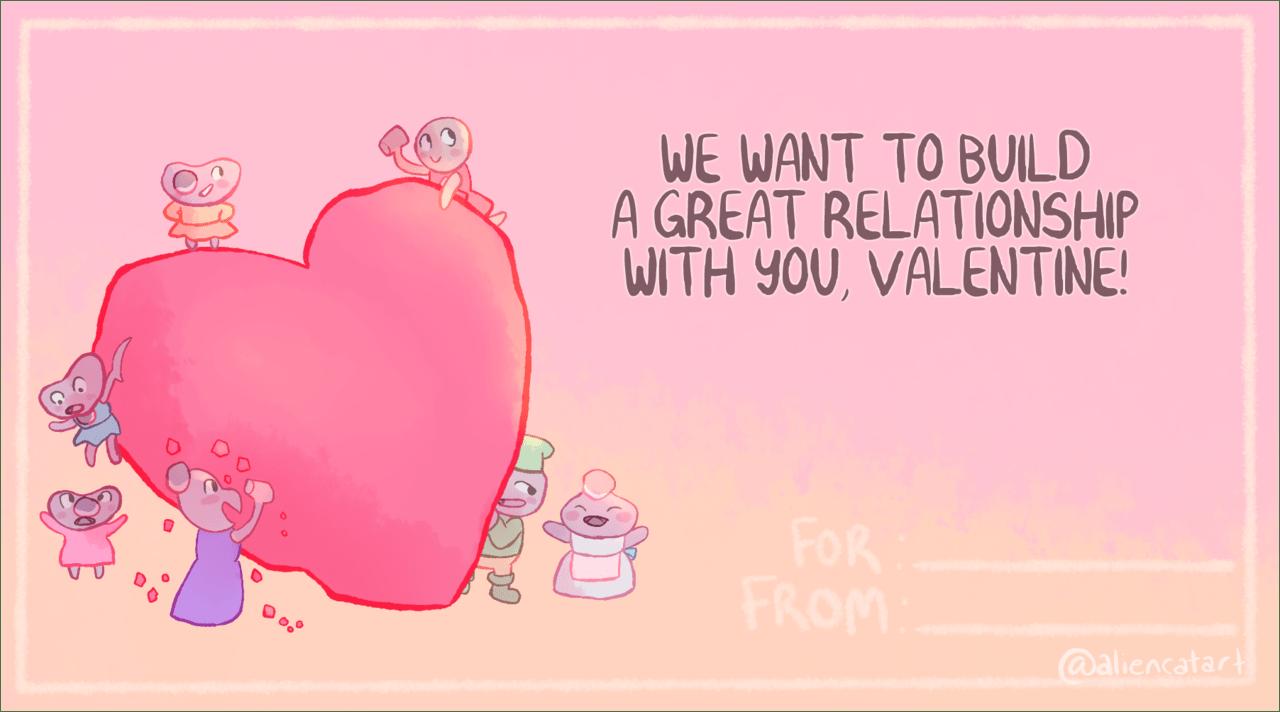 Alieen Catherine Valentine's Day ecard