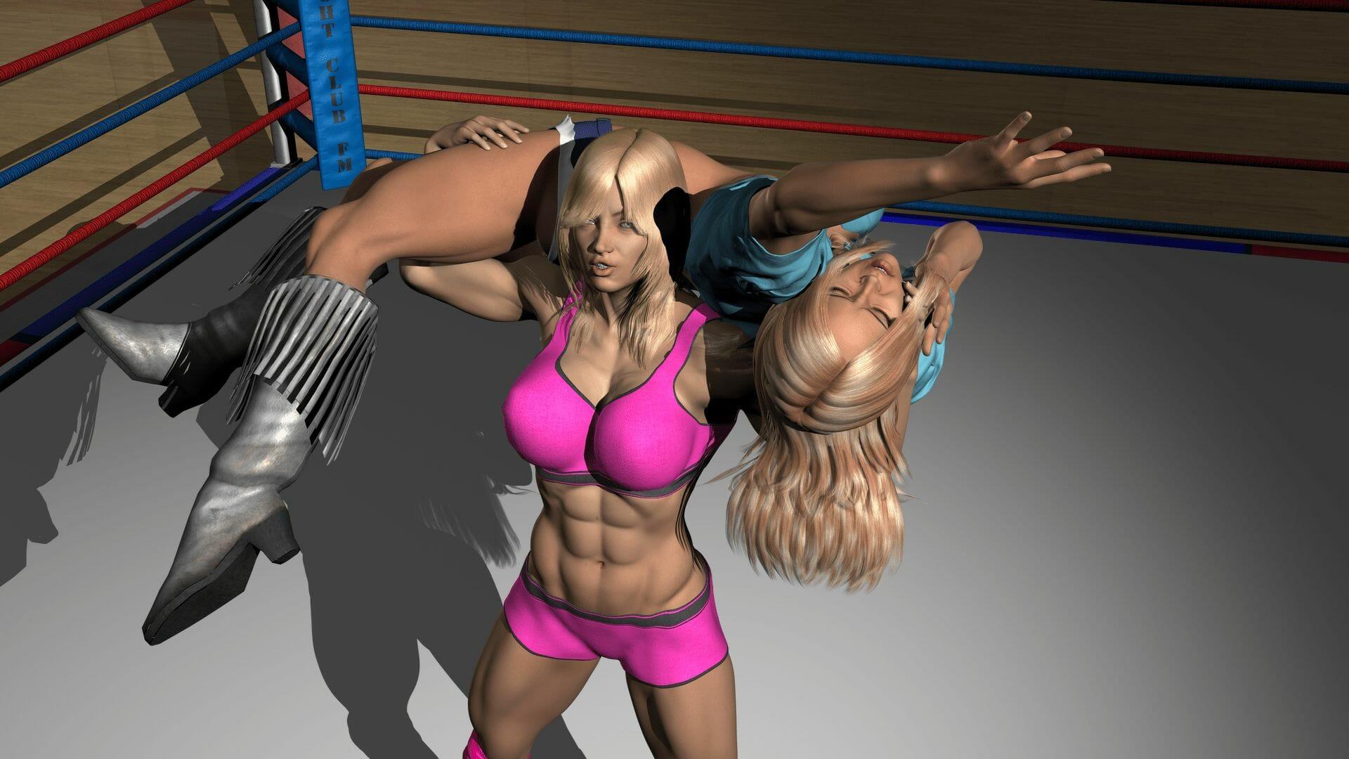 Brooke Lennox vs Brandy Bandt fanart