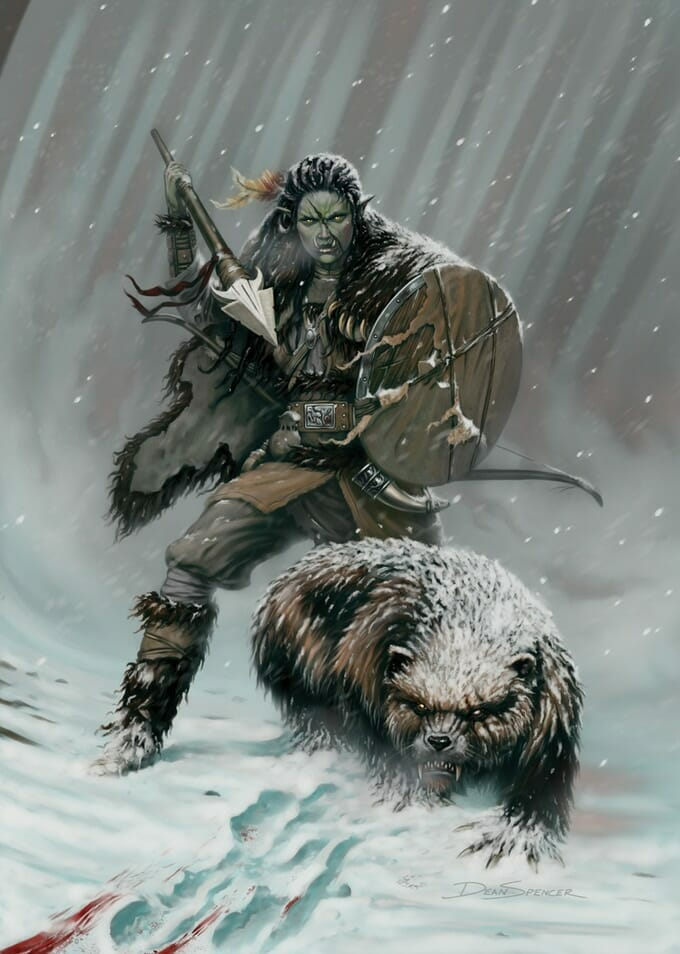 Snowhaven orc