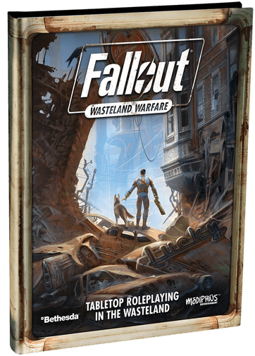 Fallout RPG official cover