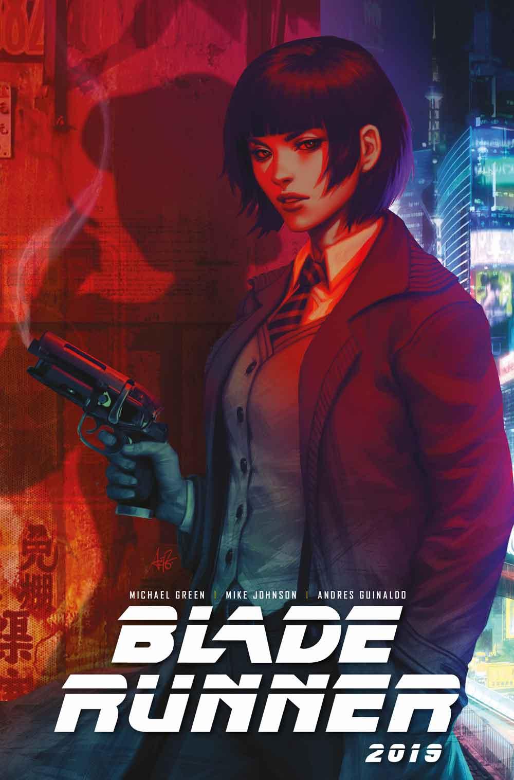 Blade Runner Cover A: Artgerm